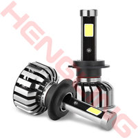 2x Super Bright 8000lm Car N7 LED Headlights H4 H7 H11 9005 HB4 9006 H13 9004