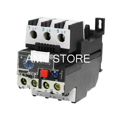JR28-13 Manual Reset 3 Phase Motor Protection Thermal Overload Relay 5.5-8A цена