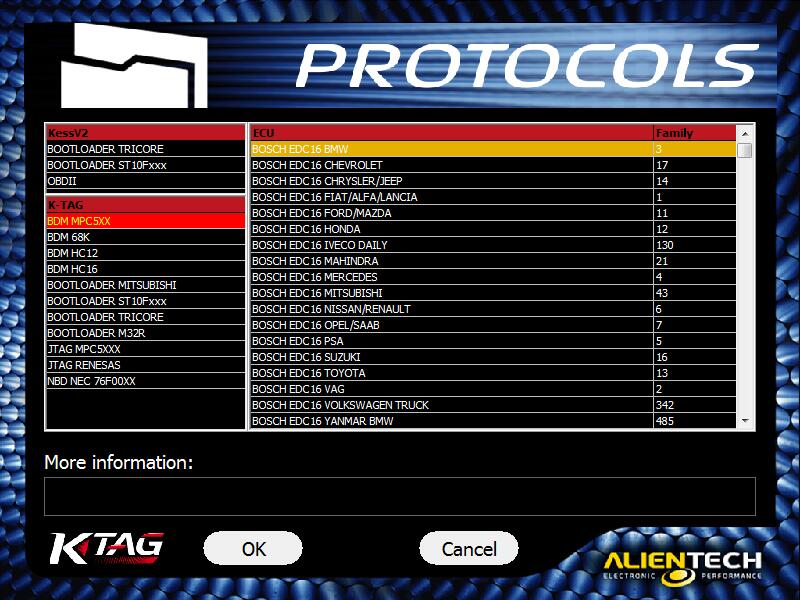 ktag 7.020 support car showing
