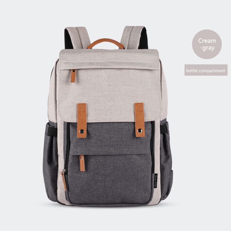Fashion Large Capacity Mummy Baby Bags Unisex Multifunction Travel Backpacks Nursing bags Casual Waterproof Laptop Backpack in Backpacks from Luggage Bags