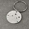 Libra  Constellation keychain,Libra  Sign Birthday Gift, Horoscope keychain, Astrology Jewelry,Zodiac keychain