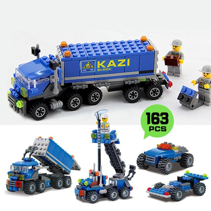 City Dumper Truck Construction Truck Building Block baby Toys For Children Birthday Gift Compatible Legos City Building Bricks