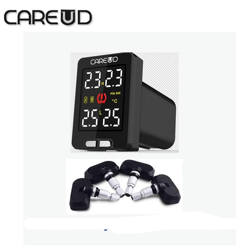 Цена за Tpms careud для toyota 4 внутренних датчиков PSI/БАР диагностический инструмент диагностический инструмент автомобиля tpms контроля давления в шинах система