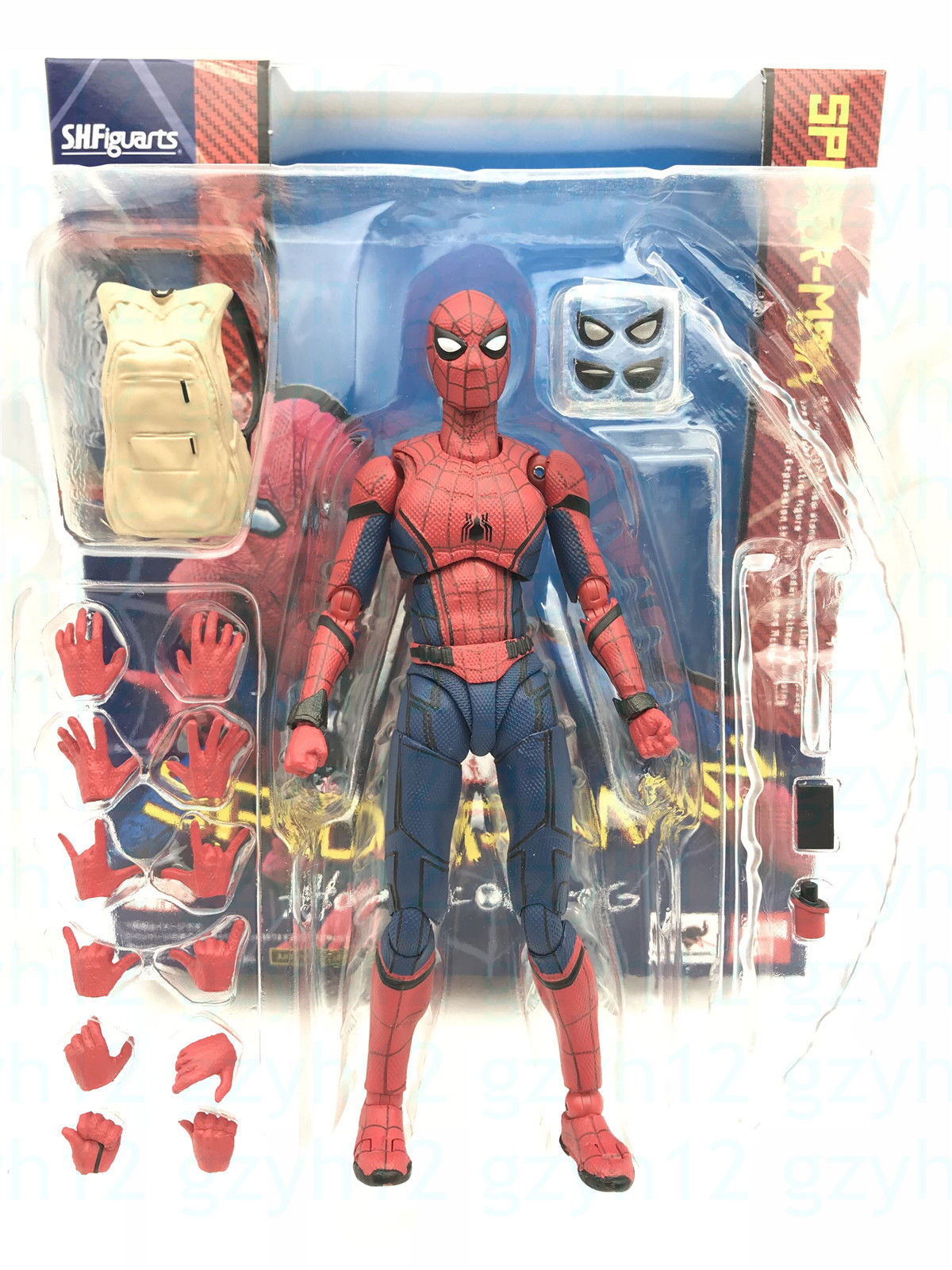 Shfiguarts Spiderman Homecoming Action Figure 150mm SHF Anime Spider-man Homecoming Collectible Model Doll Toy Shfiguarts