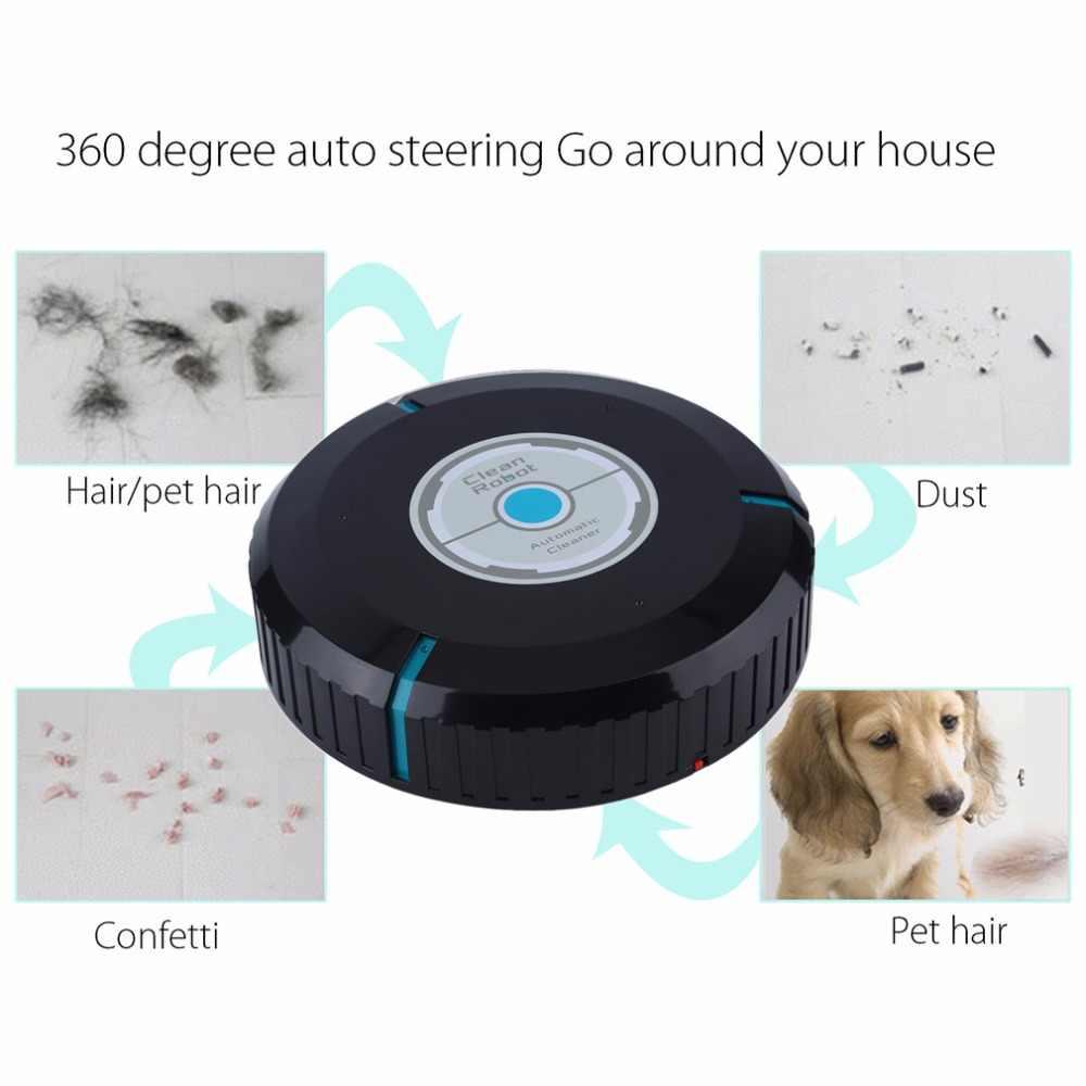 自動的にホーム自動クリーナーロボットマイクロファイバースマートモップダストクリーニング効率的な掃除機床コーナードロップ市平