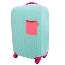 Luggage Protective Suitcase Case Luggage Cover for 18 20 22 24 26 28 inch Trolley Elastic Dust Rain Cover(China)