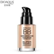 BIOAQUA Marca Base de Maquiagem Base Líquida Rosto Whitening Hidratante Oil-controle À Prova D' Água Cosméticos Concealer BB Cream 30 ml(China (Mainland))