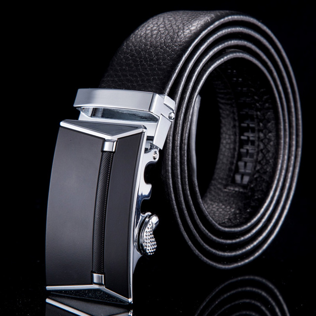 2015 Fashion designer belts for men cinto masculino genuine leather automatic buckle belt brand for business WN002