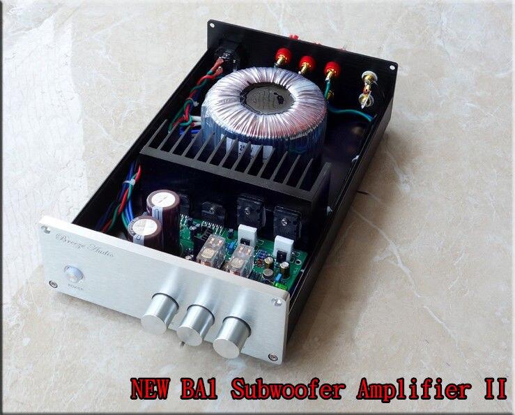 Fertig BA1 LM3886 2,1 kanal subwoofer power verstärker