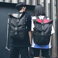 Harajuku Oxford Bookbag Backpacks Teenager Large Capacity School Bags Women College Students Solid Color Girls Travel Bag 2019