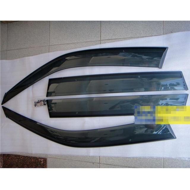 4 pcs Viseira Janela Defletor Guarda Protetor Para Subaru Forester 2009-2012