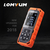 LOMVUM NEW LD Series 40M Handheld Laser Distance Meter Laser Rangefinder Waterproof Laser Tape Range Finder