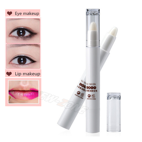 Magic Cosmetic Makeup Remover for Lip Eye Easily removable erase lipstick eyeliner dirty makeup effect correct pen 1PCS
