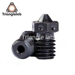 Trianglelab 1 шт. наивысшего качества A2 закаленные Сталь V6 насадки для печати пей PEEK или углеродного волокна нити для E3D HOTEND