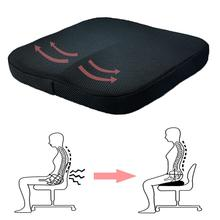 Memory Foam Seat Cushion Soft Comfort Seat Pads for Car Office Home Chair Bottom Seats Massage Cushion Pad for Pain Relief