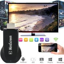 Mirascreen wireless EZCast hdmi Stick de TV Chromecast 2 cromo fundido anycast wifi pantalla Miracast DLNA Airplay dongle