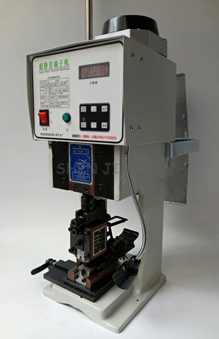 1.5T Ultra quiet Semi automatic Terminal Machine Terminal Machine + Horizontal Mode Crimping Machine With Blade Mold 220V|Machine Centre| |  - title=