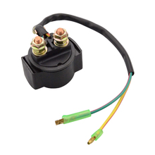 GOOFIT Relay Starter Solenoid without Cap for Motorcycle ATV Scooter Snowmobile H056-005