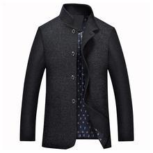 2017 neue Frühjahr Jacke Männer Marke Bekleidung hochwertige Stehkragen Casual herren Jacken Und Mäntel Plus Größe M-XXXL