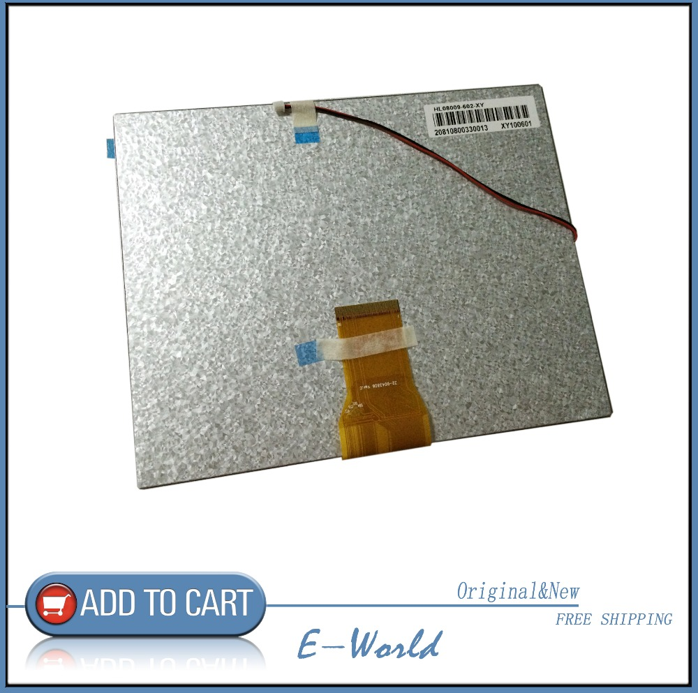 Original and New 8inch 50pin LCD screen 20001086-00 32-D043806 Ver.C for tablet pc free shipping толстовки