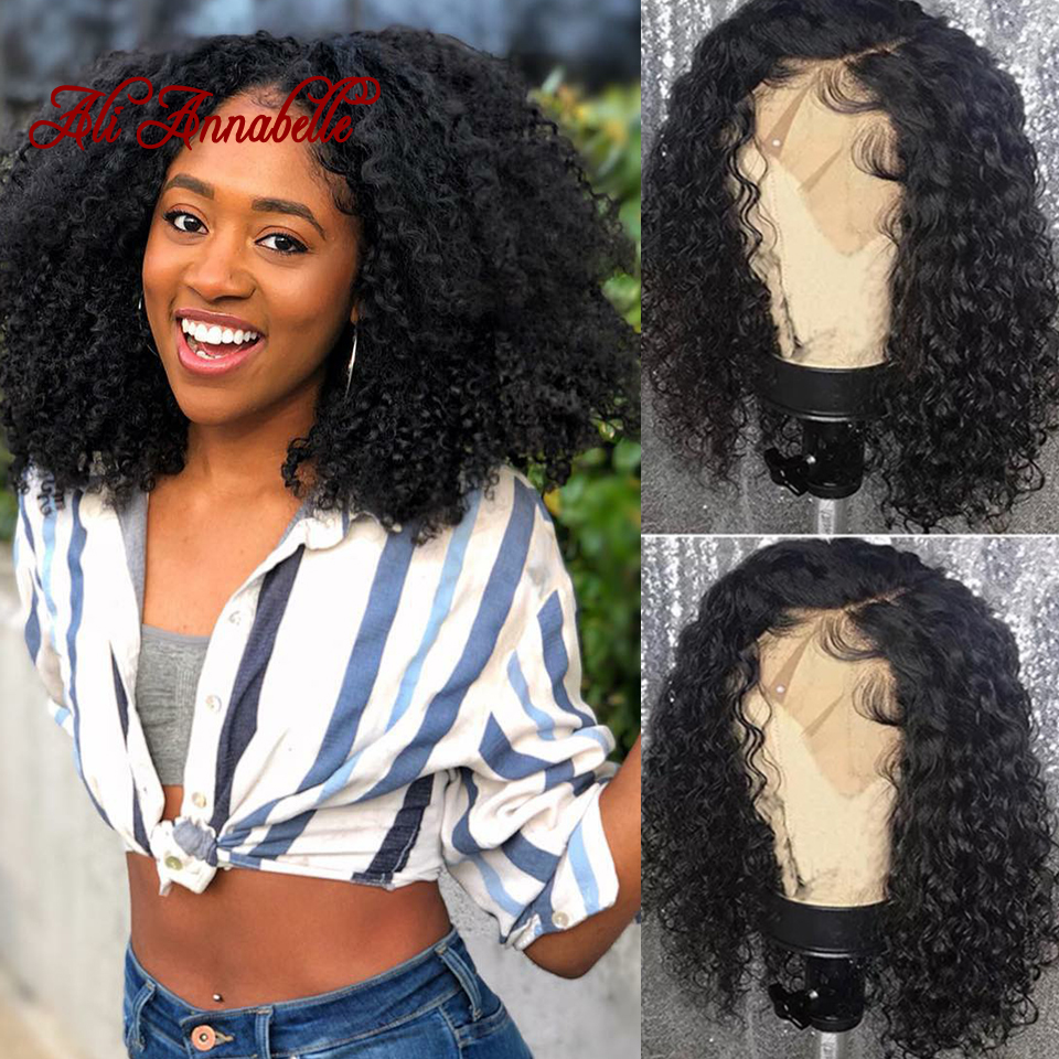 360 Lace Front Human Hair Wigs Malaysian Curly Perruque Lace Frontal Cheveux Humain Hair Wigs Pre