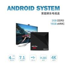 2GB 16GB Android 7 1 TV BOX SOLOVOX A5X Plus RK3328 Rockchip 2GB 16GB 2 4G
