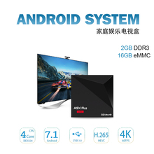 2GB 16GB Android 7.1 TV BOX SOLOVOX A5X Plus RK3328 Rockchip 2GB 16GB 2.4G WIFI 100M LAN HD2.0 USB3.0 4K VP9 H.265 Media Player