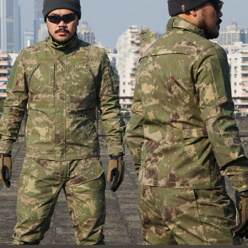 Men Urban BDU Camouflage Jacket Military Anti-scratch Shooting Outwears Airsoft Paintball Tactical Camo Shooting Coats