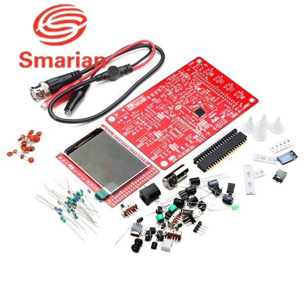 US $21 7 |Official smarian DIY Digital Oscilloscope For Arduino Kit  Electronic Learning Kit Educational For Kids Electronic Learning Set-in  Parts &