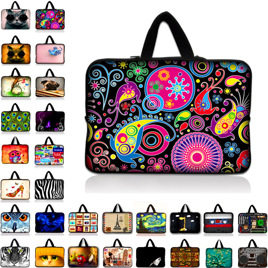 Sleeve laptop bag case for macbook air pro Retina for 9.7 inch 10 11.6 13 13.3 14 15 15.6 17 17.3 woman&man