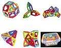 Plasctic box + 30 Шт./компл. Магнитный Строительный Блок 3D Блоки DIY Детей Игрушки Развивающие Модель Строительство Комплекты Магнитные кирпича Игрушки