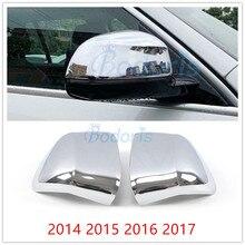 цена на Car Styling Side Rear View Overlay View Door Mirror Cover 2014 2015 2016 2017 For BMW X3 F25 X4 F26 X5 F15 X6 F16 Accessories