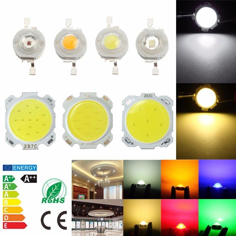 Smuxi 1W 3W 5W 7W SMD LED COB Chip Diodes High Power Bead Light Lamp Bulb for Led Bulb Spotlight Street Led Lamp