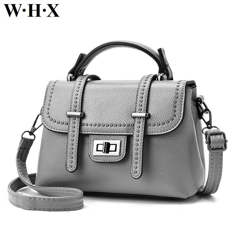 WHX Fashion Casual Classics Tote Bag Women Cross Body Bags Women Shoulder Messenger Bags New Style Female Pu Leather Handbags new arrival women casual pu leather handbags square box cartoon printing shoulder bags fashion women messenger bag tote flap bag