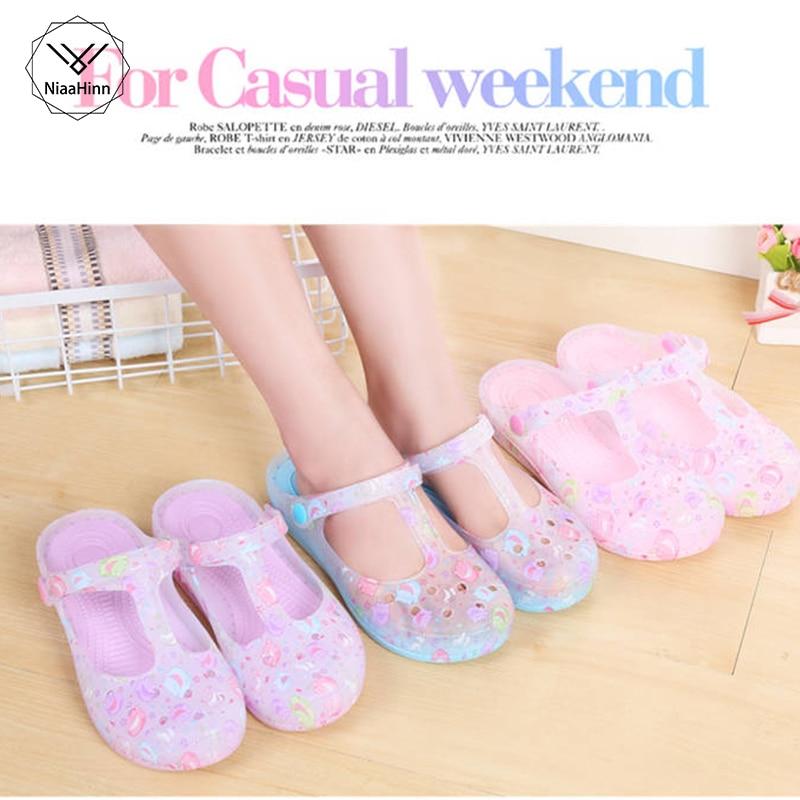 New Hospital Comfortable Soft Bottom Anti-Slip Nurse Hole Shoes Medical Shoes Summer Women Female  Doctor Nurse Work Slippers