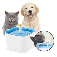 Automatic Feeder Fountain Cat Water Dispenser Square Pet Water Dispenser Pet Drinkers Feeders Accessories