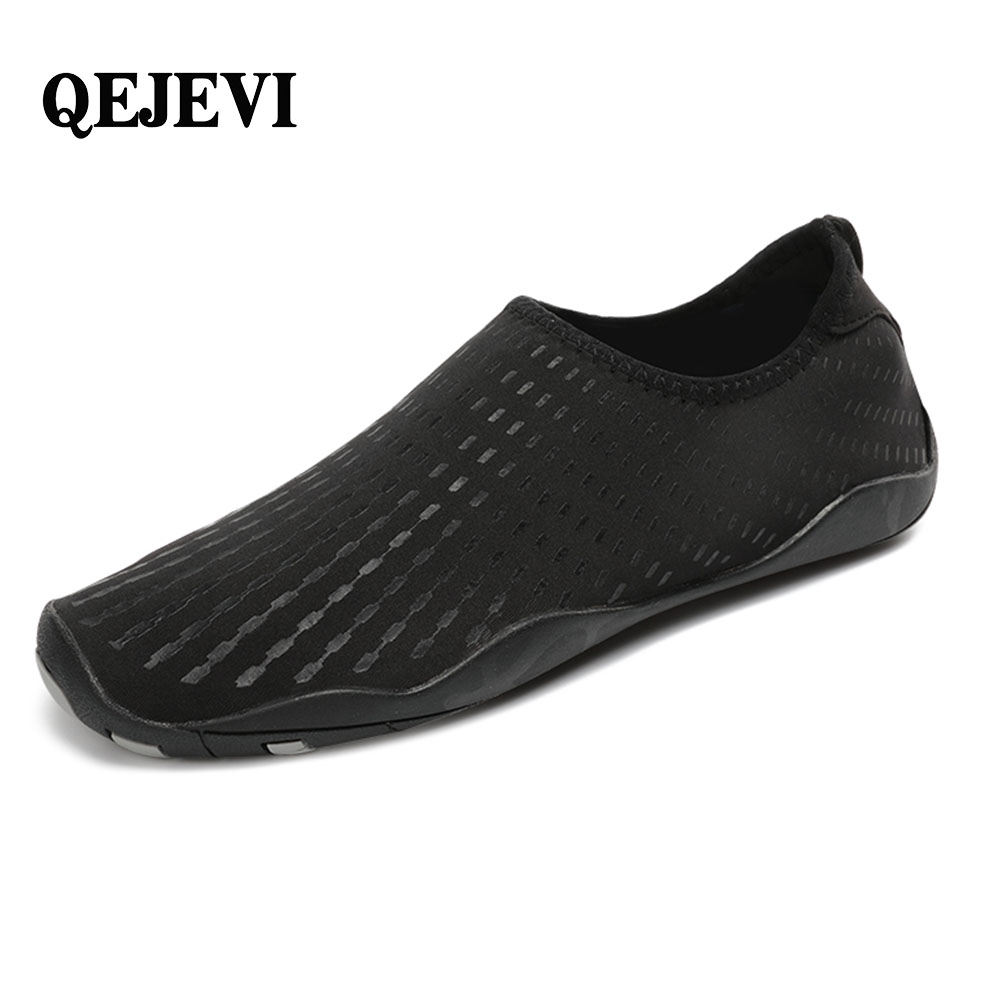 Free Shipping QEJEVI Men Women Water Shoes Swimming Fishing Aques Beach Shoes Sneacker For Men Breathable Striped zapatos hombre коктейльное платье apart коктейльное платье