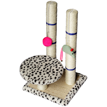 Pet Toys Wear-resistant Column Vertical Multi-layer Cat Platform Toy for Climbing Frame Supplies  Interactive