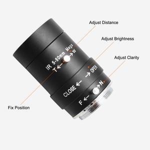 Image 5 - 5 50mm Megapixel manual varifocal lens CMOS/ CCD 1/3 CCTV lens CS mount for CCTV camera