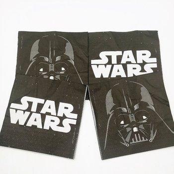 Салфетка из бумаги в стиле Звездных Войн для детей