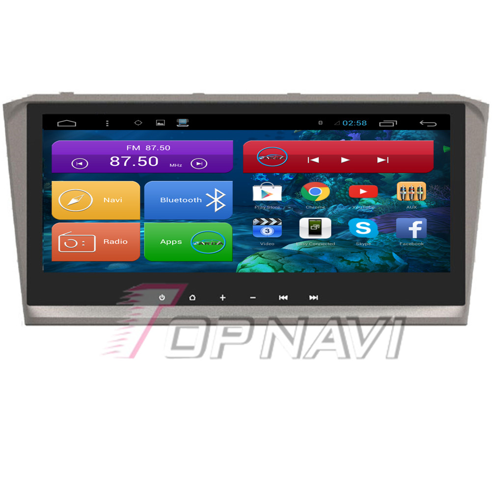 8.8'' Quad Core Android 4.4 Car PC Car Navigation for Toyota Avensis 2004 2005 2006 2007 2008 With 16GB Flash Radio Stereo
