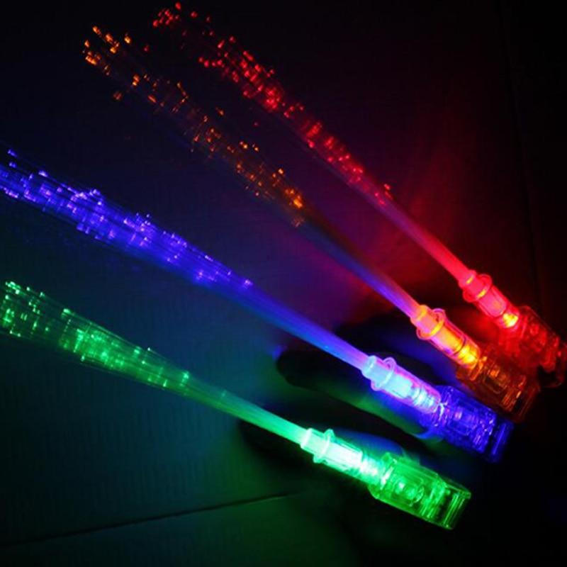 Supplies Luminous Finger Lights Projection Light LED Light Optical Fiber Lamp