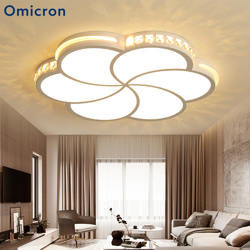 Omicron Modern LED Chandeliers Ceiling LED Bulbs Crystal Iron For Living Room Suspendsion Lighting Home Fixtures Lamparas Omicron Modern LED Chandeliers Ceiling LED Bulbs Crystal Iron For Living Room Suspendsion Lighting Home Fixtures Lamparas