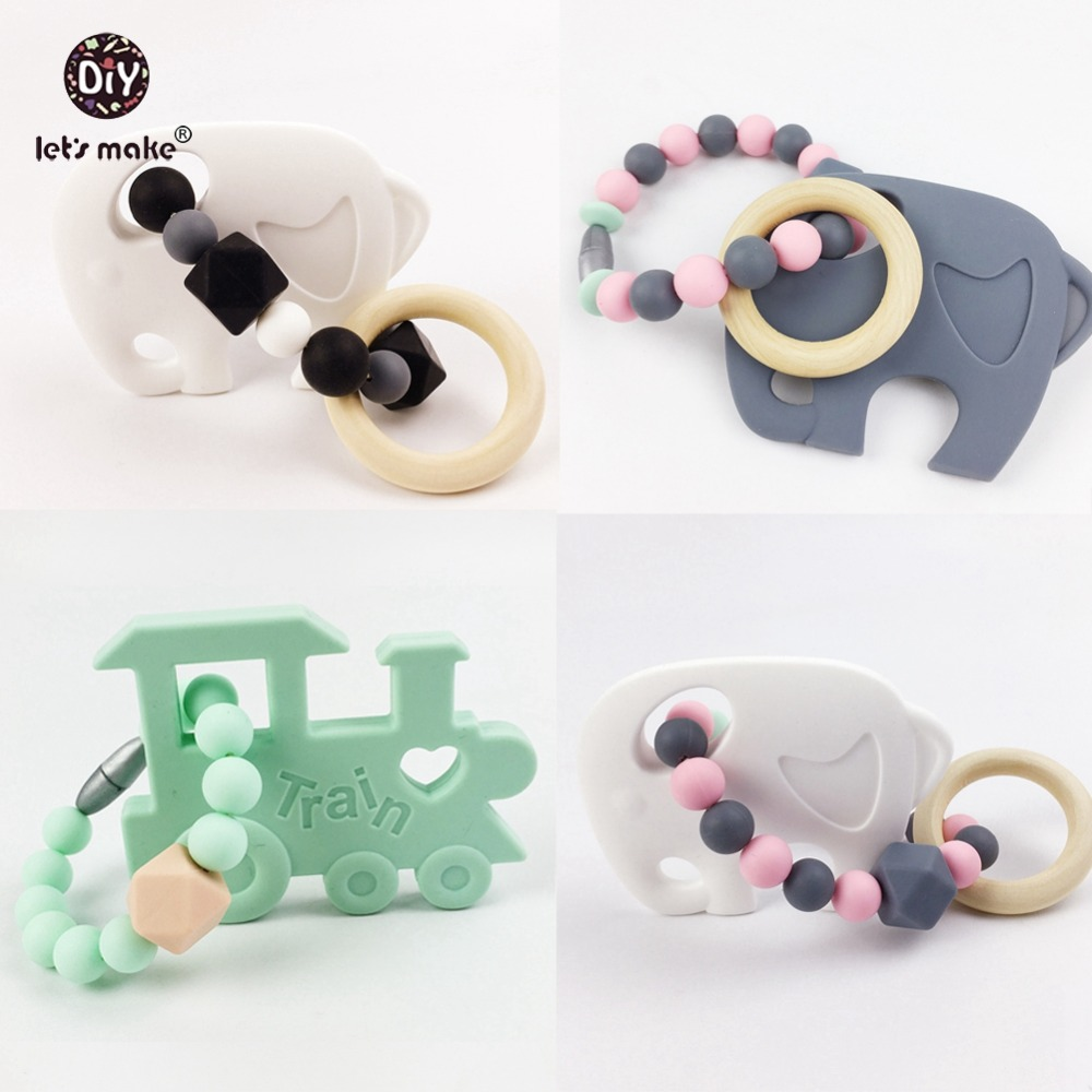 popular unique baby bedsbuy cheap unique baby beds lots from  - let's make wooden teething baby rattle silicone teether elephant train pccrib toys car seat hanging