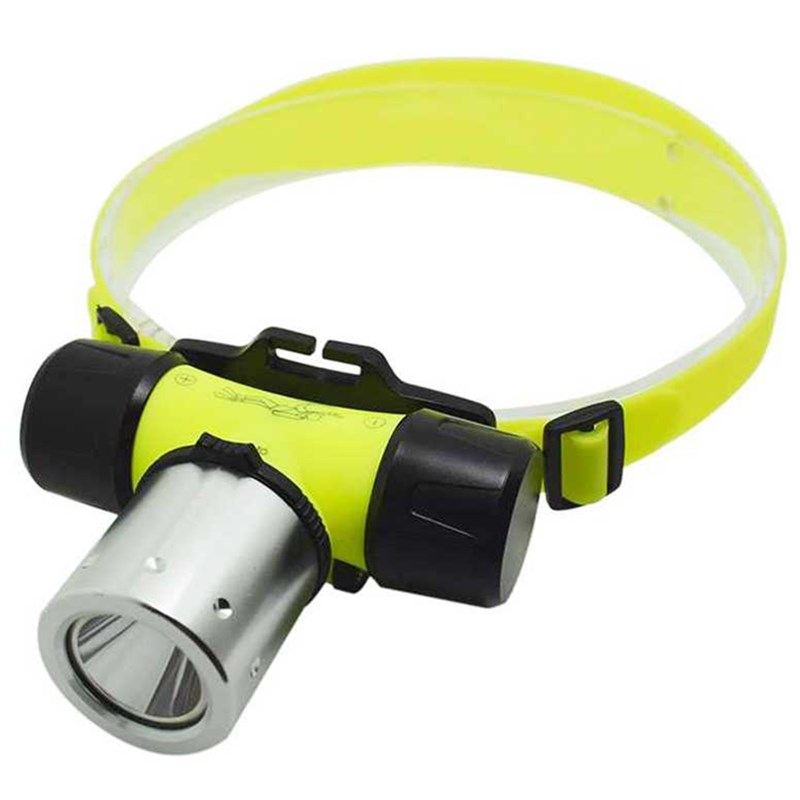 High Bright XML T6 1000 Lumen Led Headlamp Flashlight Waterproof Underwater Diving Headlight Frontal Head Torch Lamp Light 18650