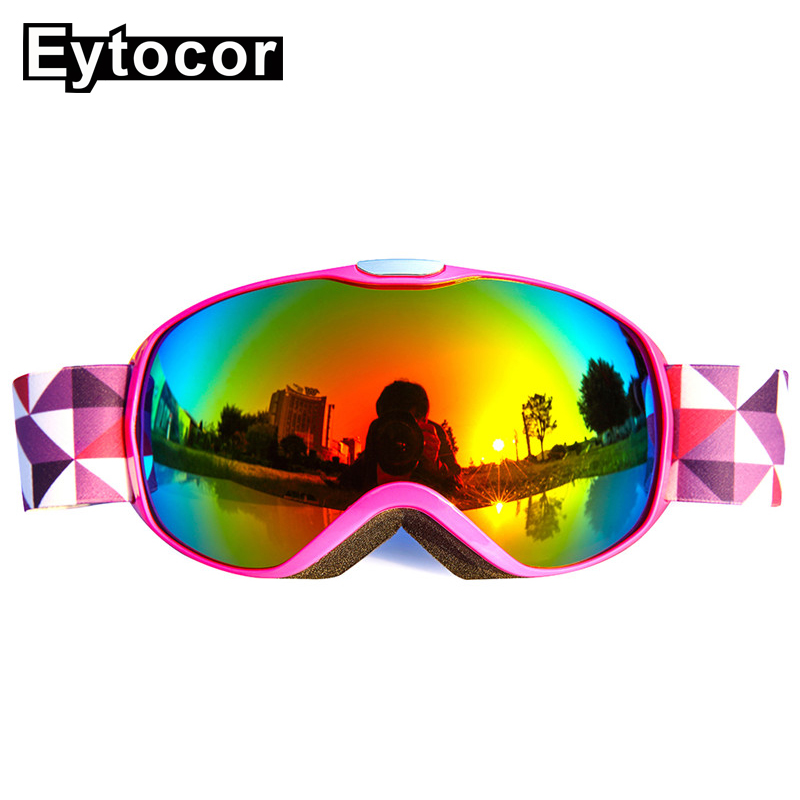 576e34452f2 Detail Feedback Questions about EYTOCOR Anti fog Children Ski Goggles Double  Lens Winter Snow Sports Snowboard Goggles Snow Skiing Glasses For Boys  Girls ...