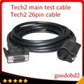 VETRONIX TECH 2 CABLE PRINCIPAL DLC Tech2 Cable Principal De la Prueba Para Gm TECH2 herramienta de diagnóstico del adaptador del conector