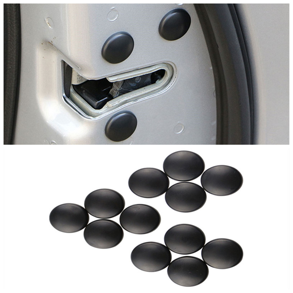 Jameo Auto 12pcs Car Door Lock Screw Protector Cover For Chevrolet Cruze Trax Aveo Lova Sail Epica Captiva Volt Camaro Cobalt