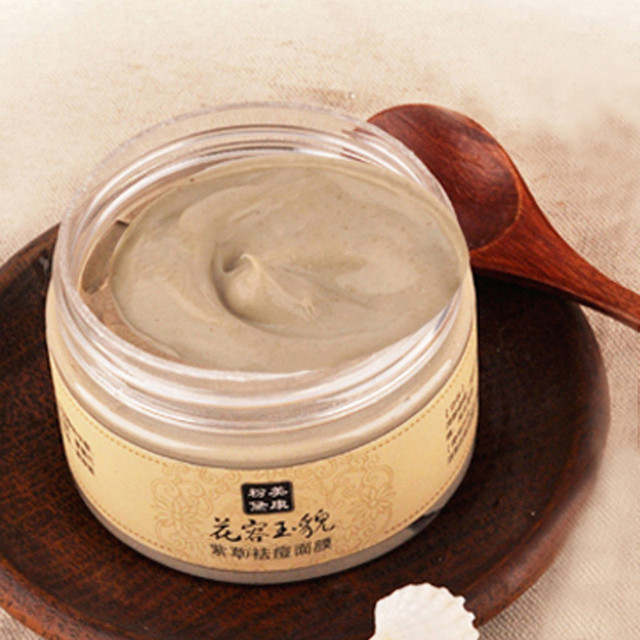 120ml Gromwell Root Face Mask Acne Treatment Scars Mite Face Care Remove Blackhead Pimple Scar Skin Whitening Cream Care Mask
