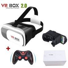 """เดิมG Oogleกระดาษแข็งVR BOX II 2.0 VRความจริงเสมือนแว่นตา3Dสำหรับ4 """"-6″มาร์ทโฟน+เกมบลูทูธGamepad"""